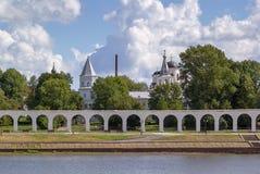 Yaroslav's Court, Veliky Novgorod Royalty Free Stock Images