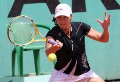 YAROSLAVA SHVEDOVA (KAZ) at Roland Garros 2009 Royalty Free Stock Images