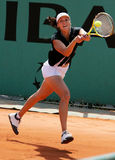 YAROSLAVA SHVEDOVA (KAZ) at Roland Garros 2009 Stock Photos