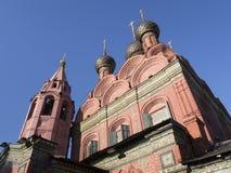 Yaroslavl, église de l'épiphanie Image libre de droits