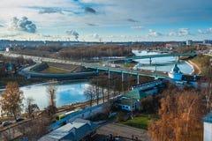 yaroslavl Εικόνα της αρχαίας ρωσικής πόλης, άποψη Στοκ φωτογραφίες με δικαίωμα ελεύθερης χρήσης