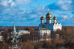 yaroslavl Εικόνα της αρχαίας ρωσικής πόλης, άποψη Στοκ φωτογραφία με δικαίωμα ελεύθερης χρήσης