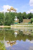 yaroslavl 1507 1533 χτισμένα υπόθεση έτη καθεδρικών ναών Ανάχωμα Kotoroslnaya Στοκ Εικόνες