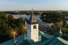 yaroslavl взгляд башни колокола Стоковые Изображения