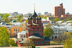 Yaroslavl. View of the Yaroslavl, Russia Royalty Free Stock Photo