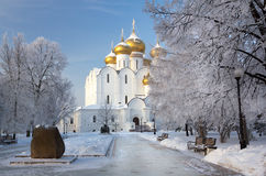 Yaroslavl Cathedral Royalty Free Stock Photography