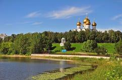 Yaroslavl cathedral Stock Photos