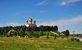 Yaroslavl cathedral Stock Photography