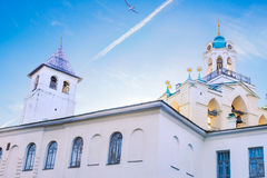 Yaroslavl center monastery Royalty Free Stock Image