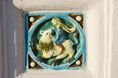 Yaroslavl ceramic Royalty Free Stock Photography