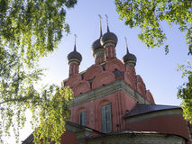 Yaroslavl, Church of the Epiphany Royalty Free Stock Images
