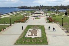 Yaroslavl cityscape Royaltyfri Foto