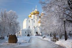 Yaroslavl domkyrka Royaltyfri Fotografi