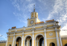 Yaroslavl-Glavny - main railway station in Yaroslavl Stock Photography