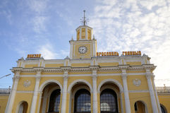 Yaroslavl-Glavny - main railway station in Yaroslavl Royalty Free Stock Photo