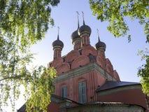Yaroslavl, iglesia de la epifanía Imágenes de archivo libres de regalías