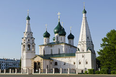 Yaroslavl kyrka Arkivfoton