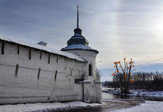 Yaroslavl, monastery royalty free stock photo