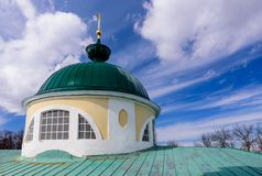 Yaroslavl Museum-reserve in Russia. Golden ring of Russia. Yaroslavl Museum-reserve in Russia royalty free stock photo