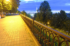 Yaroslavl noc Zdjęcia Royalty Free