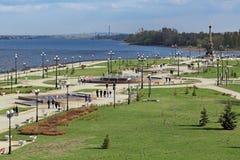 Yaroslavl pejzaż miejski Zdjęcia Royalty Free