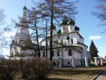 Yaroslavl, Россия, церковь Илии подвздошные кости Prorok пророка в Yaroslavl стоковое изображение