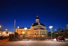 Yaroslavl, Rússia - 27 de março 2016 Igreja da apresentação de Lord Ascension Parish imagem de stock royalty free