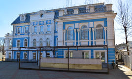 Yaroslavl, Rússia - 31 de março 2016 Restaurante da personalidade na rua de Pervomayskaya Fotos de Stock Royalty Free