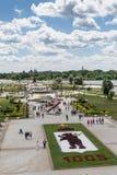 YAROSLAVL, RUSSIA - GIUGNO 2015: Lle celebrazioni dell'anniversario 1005 del fondamento della città Fotografie Stock