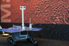 Mars Rover Model stock images