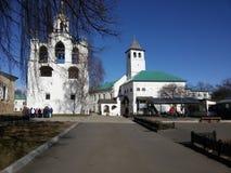 Yaroslavl Ryssland, kyrkan av Elijah profeten Ilia Prorok i Yaroslavl arkivfoton