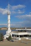 Yaroslavl rzeki stacja Obrazy Stock