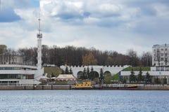 Yaroslavl rzeki stacja Fotografia Royalty Free