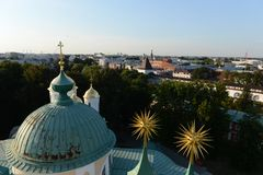 Yaroslavl. View from the bell tower. Stock Photography