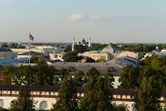 Yaroslavl. View from the bell tower. Royalty Free Stock Image