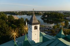 Yaroslavl. View from the bell tower. Stock Images