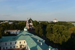 Yaroslavl. View from the bell tower. Stock Image