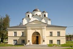 Yaroslavovo Dvorishche. Age-old temples Royalty Free Stock Image