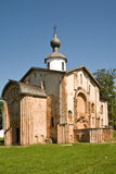 Yaroslavovo Dvorishche. Age-old temples Royalty Free Stock Photography