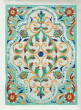 Yaroslavsky tile. Traditional folk painting Stock Photography