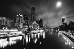 Yarra Fluss, Melbourne Stockfotografie