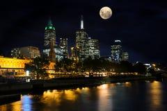 Yarra Fluss, Melbourne stockfotos
