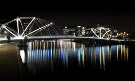 Yarra Fluss, Melbourne lizenzfreies stockfoto