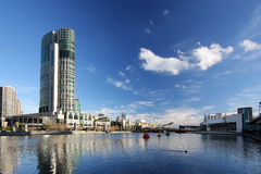 Yarra Fluss, Melbourne lizenzfreie stockfotografie