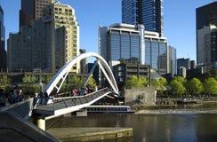 Yarra-Fluss in Melbourne stockfotos