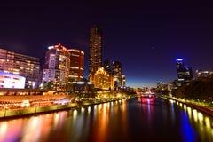 Yarra-Flussfront stockfotos