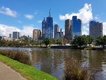 The yarra melbourne Stock Photography
