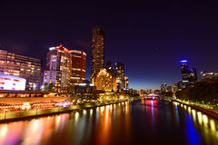 Yarra river front Stock Photos