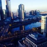 Yarra river. Melbourne yarra river Royalty Free Stock Image
