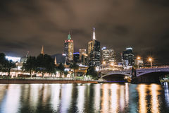 Yarra River, Melbourne Royalty Free Stock Photo